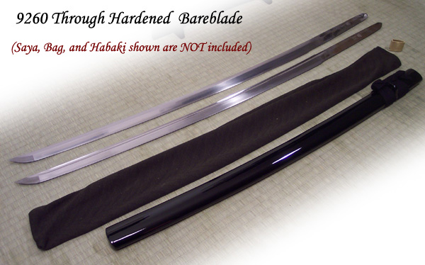 Katana Blade Only Steel Bare Blade Only