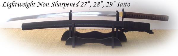 Cheness Cutlery - Lightweight Stainless Unsharpened Iaito